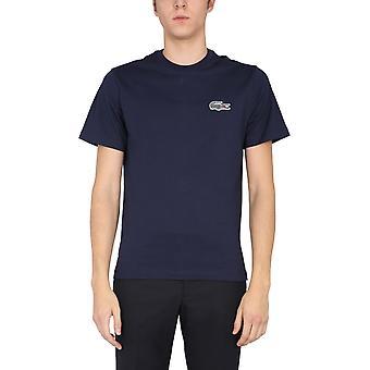 Lacoste Th62816uj Men's Blue Cotton Polo Shirt