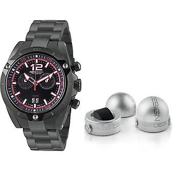 Momo design watch dive master chrono md282bk-40