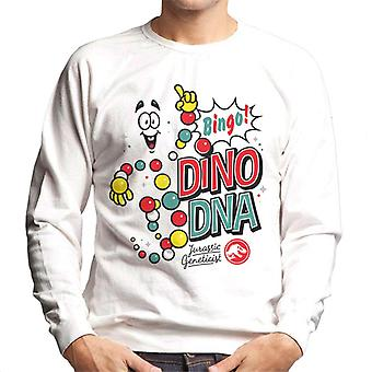 Jurassic Park Bingo Dino DNA Men's Sweatshirt