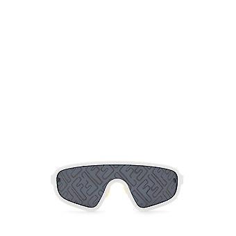 Fendi FF M0084/S white unisex sunglasses