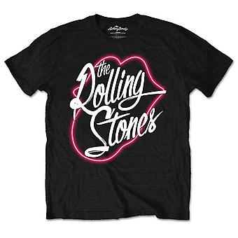 The Rolling Stones Neon Lips Official Tee T-Shirt Unisex