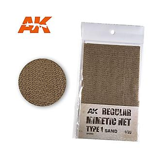 AK Interactive AK8060 Tarnnetz Sand Typ 1