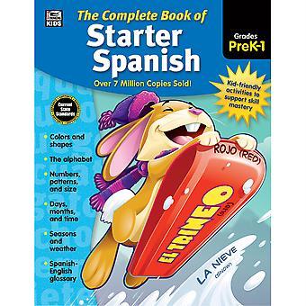 The Complete Book Of Starter Spanish Workbook, Grade Preschool-1, Paperback