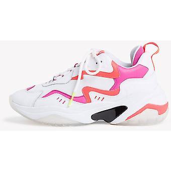 Wht Neon Kamm flache Schuhe