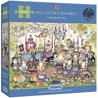 Gibsons Pussel Mad Catter's Tea Party 250 XL Pieces