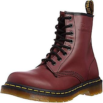 Dr. Martens Womens 1460 W Fabric Round Toe Ankle Combat Boots
