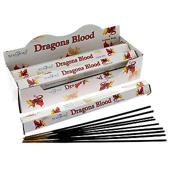 Stamford hex incense sticks - dragons blood 6 supplied