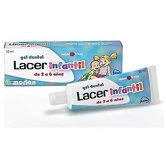 Lacer Strawberry gel for children 2-6 years old