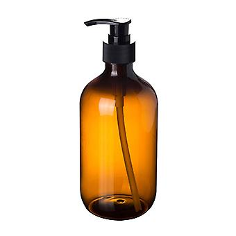Bathroom Portable Soap Dispensers Lotion Shampoo Shower Gel Holder, Empty Bath