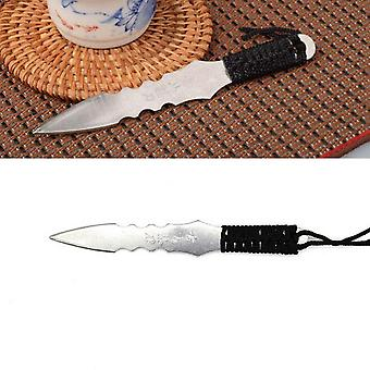 Needle Puer Knife Cone Stainless Steel Metal Insert Tea Set