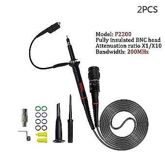 1Set عالية الجودة p6100 الذبذبة التحقيق dc-6mhz dc-100mhz نطاق مقطع التحقيق الشحن المجاني