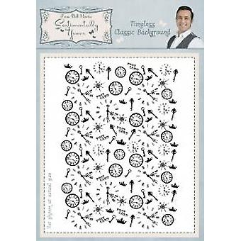 Sentimentally Yours Timeless Classic Background A6 Background Stamp