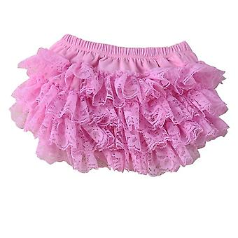 Little Ruffles Shorts - Lace Bloomers Cotton Diaper Covers
