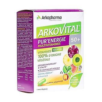 Arkovital Pure Energy 50+ 60 capsules