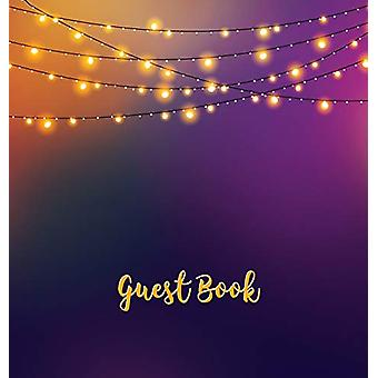 Guest Book (HARDCOVER) - Party Guest Book - Birthday Guest Comments B