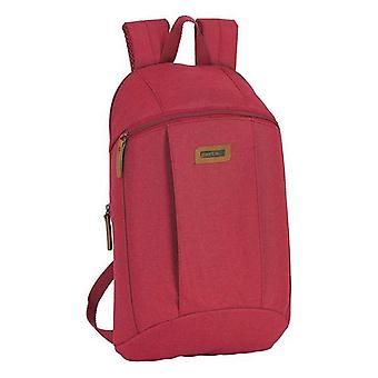 Casual backpack safta maroon