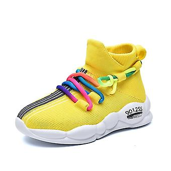 Kids Non-slip Line Surface Baby Soft Comfortable Sneakers