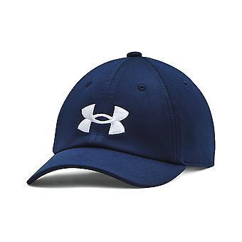 Under Armour Blitzing Kids Säädettävä Baseball Lippis Hattu Navy Blue