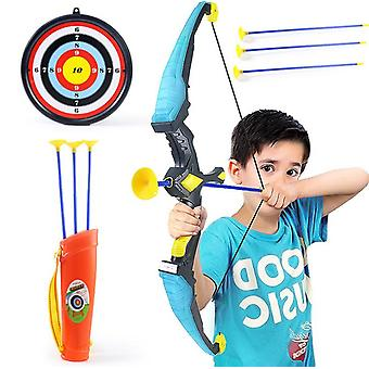Bow And Arrow For Kids With Archery Bow With Cups Arrows, Target,
