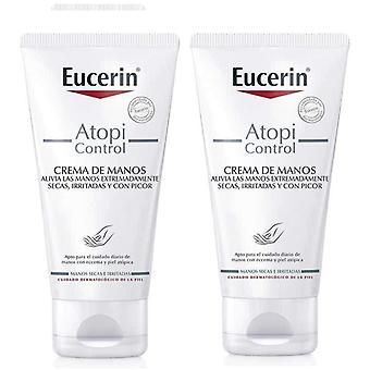 Eucerin Atopi Kontroll Crema de Manos 2x75 ml