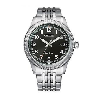 Men's watch CITIZEN MONTRES BM7480-81E - Grey Steel Bracelet