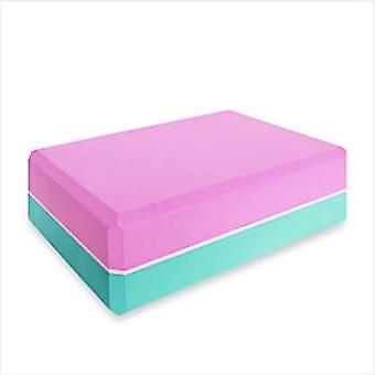 Yoga Block Props Espuma Brick Stretching Aid Gym Pilates Yoga Block Exercise Exercise