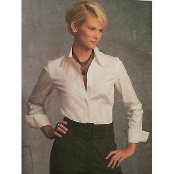 Vogue Sewing Pattern 1035 se pierde pantalones cortos tamaño 6-12 Alice & Olivia Uncut