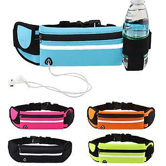 Copoz Outdoor Sport wasserdichtGürtel tasche mit reflektierenden Streifen unsichtbare Wasserflasche Gürteltasche Fitness laufen Reitgürteltasche