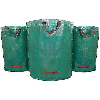 HanFei 3X 272L Gartenabflle, Laub, Grnschnitt, Pflanzenabflle, Kompost - Rundes Format, selbststehend