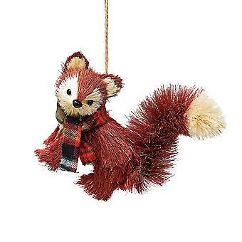 Sass & Belle Bristle Fox Christmas Decoration