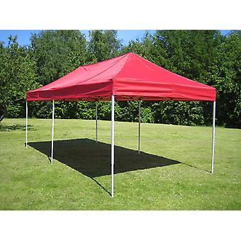 Vouwtent/Easy up tent FleXtents PRO Steel 3x6m Rood
