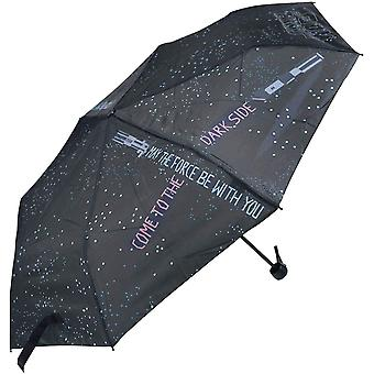 DZK Unisex Kid's 2400000505 Folding Manual Umbrella, 25, 5 X20 X27 Centimeters