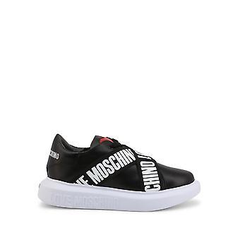 Love Moschino - Pantofi - Adidasi - JA15254G1CIA0-000 - Femei - alb-negru - UE 35