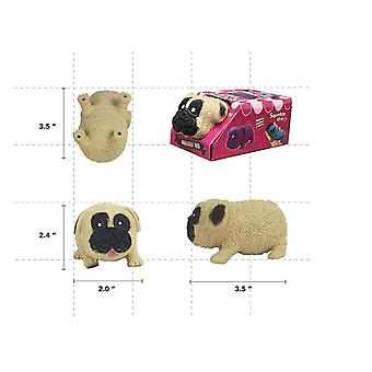 Pug Squeeze Toy Cute Dog Vent Druk Langzame Rebound Speelgoed