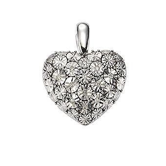 Celesta - Women's pendant with diamond (0.07 ct), sterling silver 925, cod. 312240012