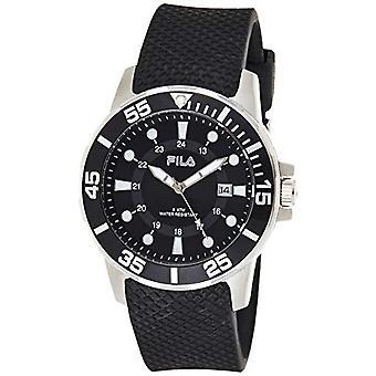 Rij analoge quartz horloge Unisex volwassene met rubberen band FILA38-120-004