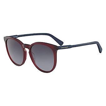 Longchamp LO606S, Acetate Ruby/Petrol Sunglasses Unisex Adult, Multicolored, Standard