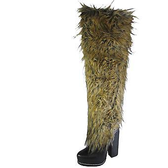 Jeffrey Campbell Womens Misha Knee High Boot Shoe