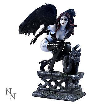 Raven Fairy Figurine
