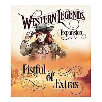 Western Legends - Fistful av extras utvidelse brettspill