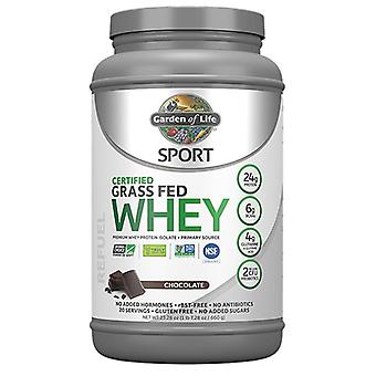 גן החיים ספורט מוסמך דשא הפד חלבון מי גבינה, שוקולד 23.7 עוז