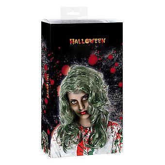 Parrucca di Halloween grigia