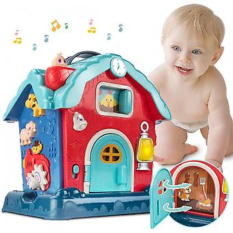 Baby Musical Toy For Toddlers, Baby Activity Toy With Musical Song