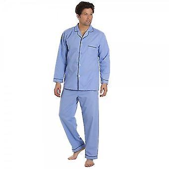 Clássico estilo Mens Várias cores Full Length Pyjama Set