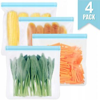 Reusable Sandwich Bags, Bpa Storage Bags, Waterproof Extra-thick Ecological Bags (15 Pieces) For Food Storage Cabinets Storage Boxes