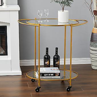 Boissons Cuisine Trolley Servant Bar Chariot sur roues