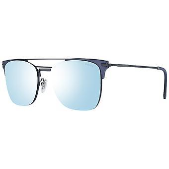 الرجال Gunmetal النظارات الشمسية awo31719