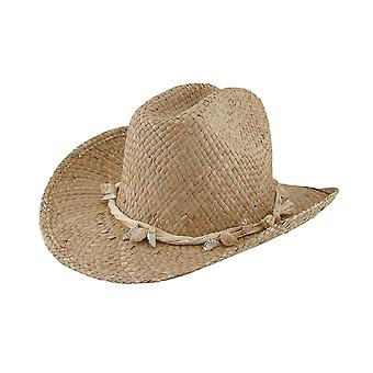 Seagrass Straw Cowboy Hat w/Seashell Band