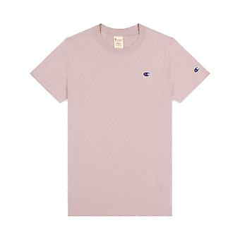 Champion Reverse Weave Small Logo Crewneck 113360PS007 universelles Ganzjähriges Damen T-Shirt
