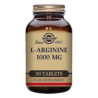 L-Arginin Solgar 1000 mg (90 tabletter)